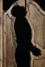 Zola,  2013, wood doors, 198,1 x 76,2 cm